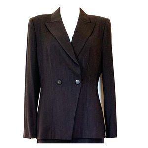 Tahari Ladies Double Breasted 2Pc Pant Suit Sz 10